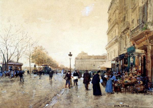 名画 内祝い 人気上昇中 絵画 油絵 Loir Luigi_ルーブル美術館