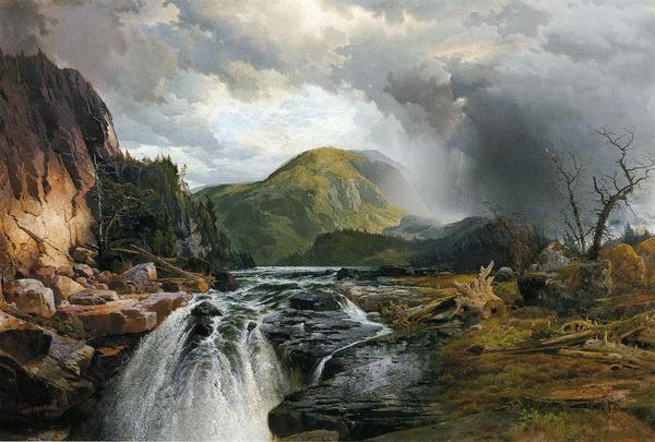 名画 最安値挑戦 絵画 油絵 Moran 雄大なスペリオル湖 Thomas_ 新発売