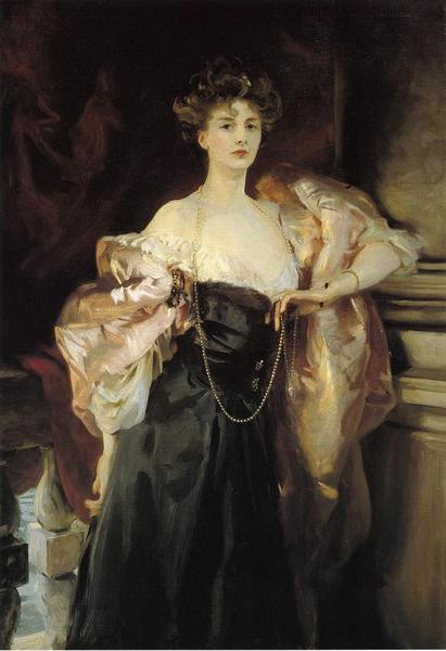超定番 名画 限定特価 絵画 サージェント_婦人の肖像 油絵