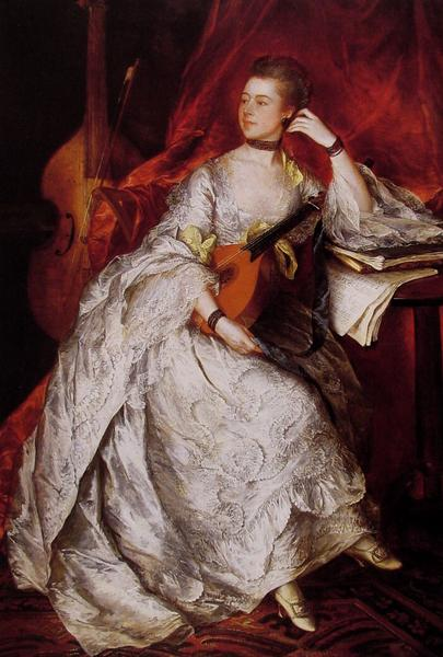 全品最安値に挑戦 名画 絵画 油絵 Thomas Gainsborough_Thicknesse夫人 デポー