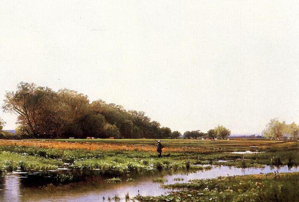 毎日がバーゲンセール 名画 絵画 油絵 Thompson_湿原地帯の狩人 選択