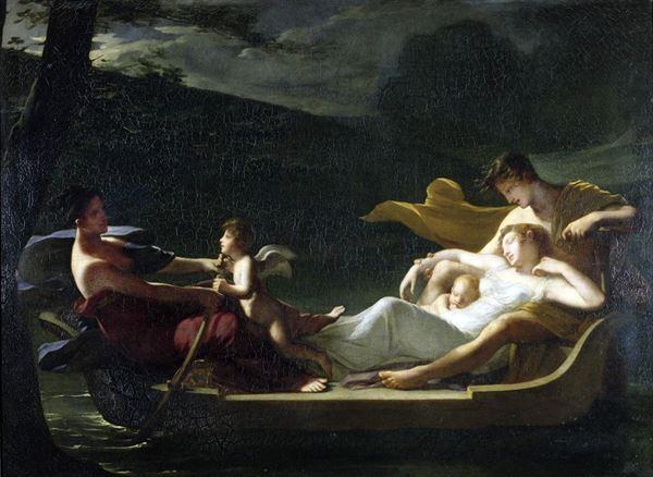 名画 保証 絵画 油絵 Constance Mayer-Lamartiniere_ 本物 幸福な夢 Marie