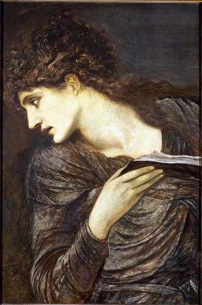 名画 絵画 油絵 返品交換不可 Burne-Jones_ ヌミエ Edward [並行輸入品]
