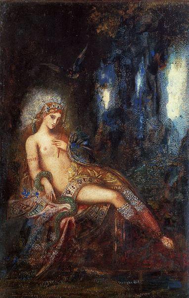 名画 絵画 油絵 高額売筋 岩窟の女神 Gustave ☆送料無料☆ 当日発送可能 Moreau_
