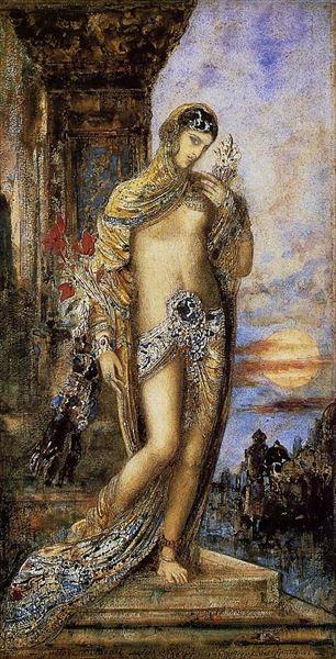 新商品 名画 絵画 油絵 購入 雅歌 Gustave Moreau_