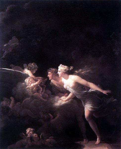 買収 日本 名画 絵画 油絵 愛の泉 Fragonard_ Jean-Honore