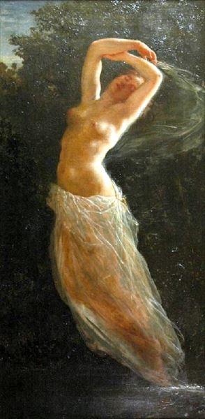 新入荷 流行 名画 絵画 春の新作 油絵 Gerson_たそがれの時 Wojciech