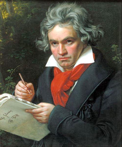 油絵 作曲家ベートーベンの肖像