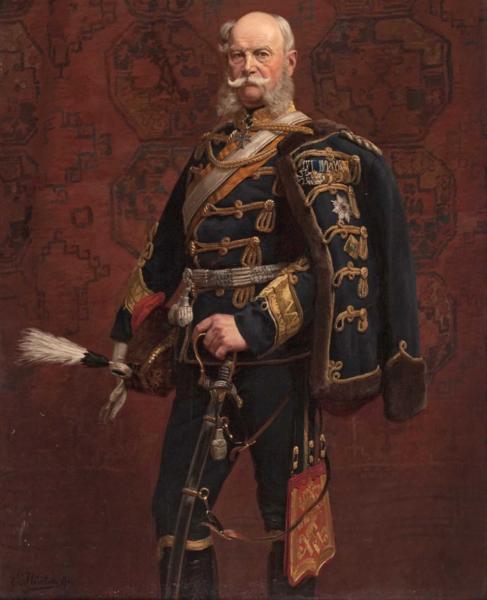 名画 絵画 ヴィルヘルム1世の肖像 1着でも送料無料 油絵 ランキング総合1位