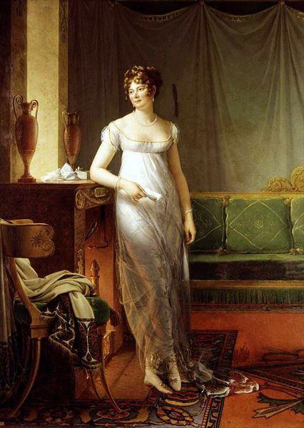 ファクトリーアウトレット 名画 絵画 早割クーポン 油絵 フランソワ ジェラールの名作_キャサリンの肖像