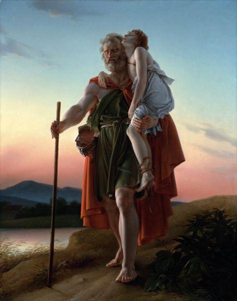 油絵 フランソワ・ジェラールの名作_ベリサリウス