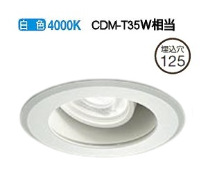 大光電機LEDダウンライト(電源装置別売)LZW92179NW