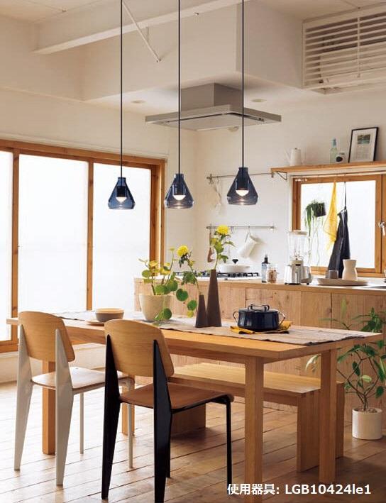 パナソニック LEDユニット60形ペンダント 直付型LGB10424LE1