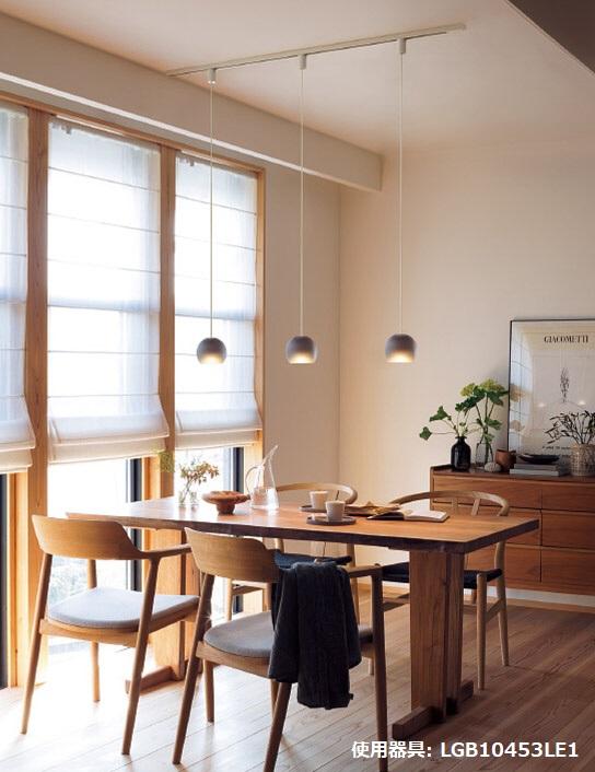 パナソニック LEDユニット60形ペンダント 直付型LGB10454LE1