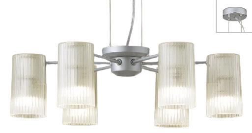 パナソニック LEDシャンデリア40形×6電球色LGB19653K