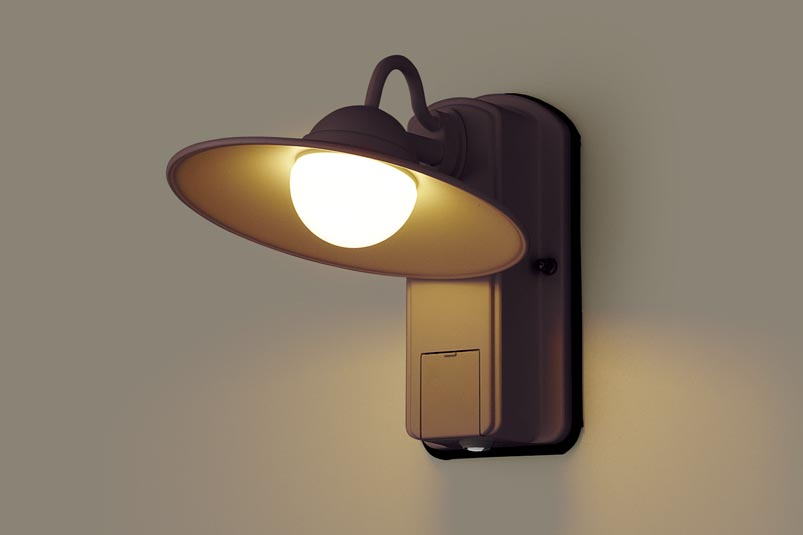 パナソニック LEDアウトドアブラケットLGWC80245LE1