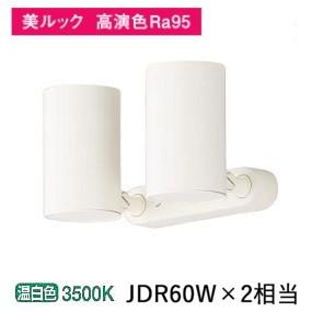 パナソニックLEDスポットライト60形X2集光温白色 LGS1330VLB1