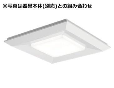 パナソニックLEDベースライトスクエア光源ユニット(本体別売)4500lm調光昼白NNL1400ENLA9