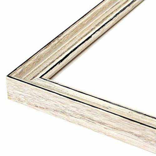 (800×800mm) 木製: 80角 MRN-D6009-C (UVカットアクリル) 正方形額縁 フレーム アンティークホワイト