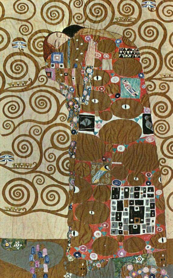 複製画 送料無料 プレミアム 学割 絵画 油彩画 油絵 複製画 グスタフ・クリムト「抱擁」 F20(72.7×60.6cm)サイズ プレゼント ギフト 風水 名画 絵画 油絵複製画 オーダーメイド 無料額縁付き
