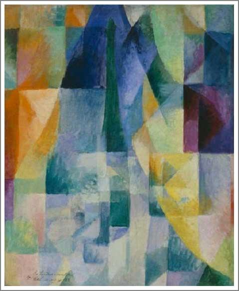 複製画 送料無料 プレミアム 学割 絵画 油彩画 油絵 複製画 模写ロベール・ドローネ「同時的対照 太陽と月」 F8(45.5×38.0cm) サイズ プレゼント ギフト 贈り物 名画 オーダーメイド 額付き