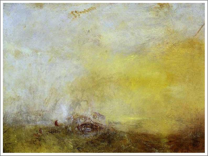 複製画 送料無料 プレミアム 学割 絵画 油彩画 油絵 複製画 模写ウィリアム・ターナー「海の怪物のいる日の出」 F12(60.6×50.0cm)サイズ プレゼント ギフト 贈り物 名画 オーダーメイド 額付き