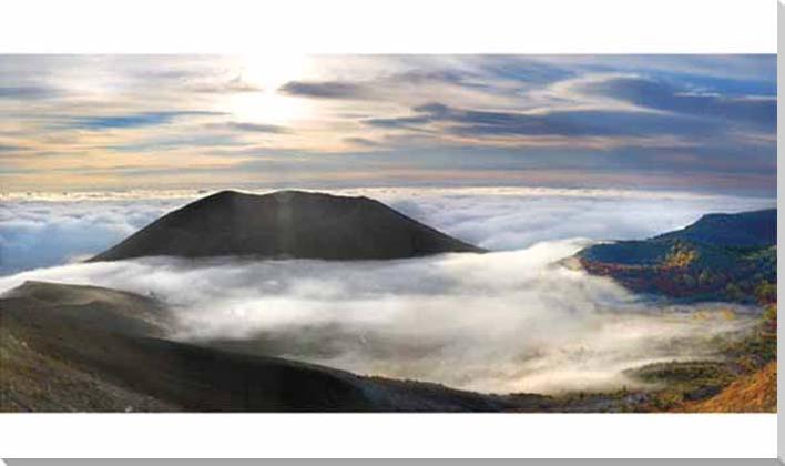吾妻山 風景写真パネル
