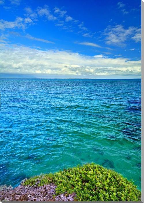 風景写真パネル 沖縄黒島の海 西の浜 72.7×53cm oki-002-p20 インテリア ポスターとは違う,リビング,玄関にそのまま飾れる額がいらない,壁掛け,壁飾り。絵画 アート,アートパネル,癒やしの装飾をお祝い,プレゼント,ギフトにも。