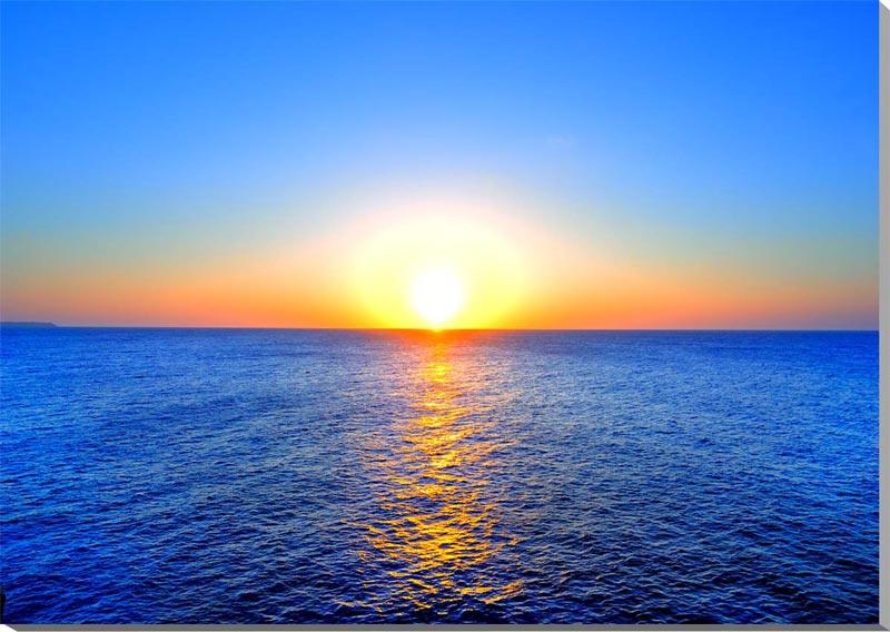 風景写真パネル 沖縄北大東島の海と太陽 夕日 72.7×50.0cmKTD-025 インテリア ポスターと違う,タペストリー 壁掛け,壁飾り。風水 絵画 アート インテリア アートパネル,ポスター 風景,新築,結婚祝い,贈り物,ギフトに