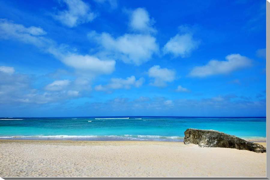 風景写真パネル 沖縄波照間島の海 ニシ浜 60.6×41cm htr-024-m12 インテリア ポスターとは違う,リビング,玄関にそのまま飾れる額がいらない,壁掛け,壁飾り。絵画 アート,アートパネル,癒やしの装飾をお祝い,プレゼント,ギフトにも。