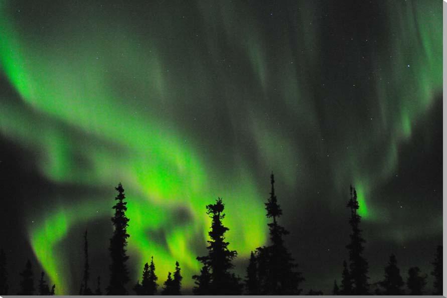 オーロラ アラスカ 風景写真パネル 60.6×41cm AUR-18-M12