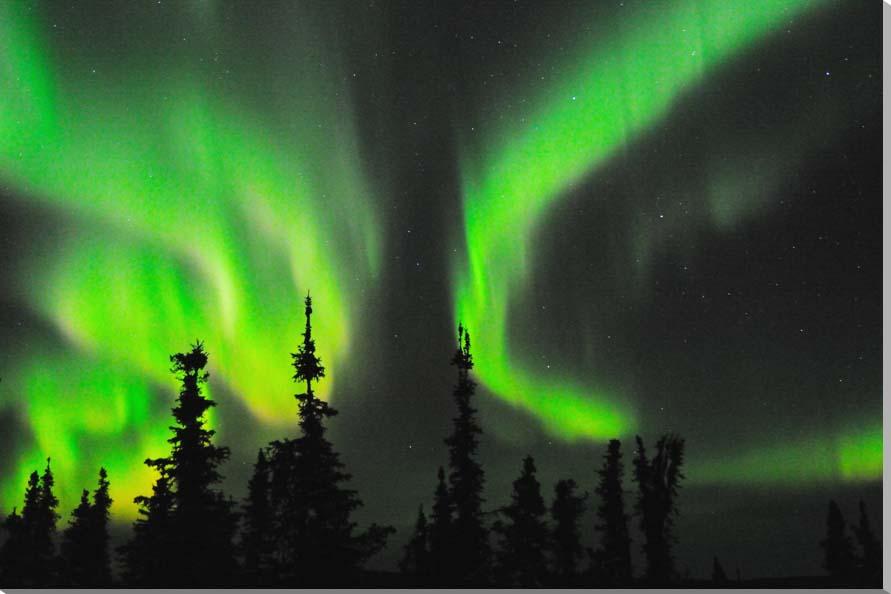 オーロラ/アラスカ 風景写真パネル 72.7×50cm AUR-19-M20
