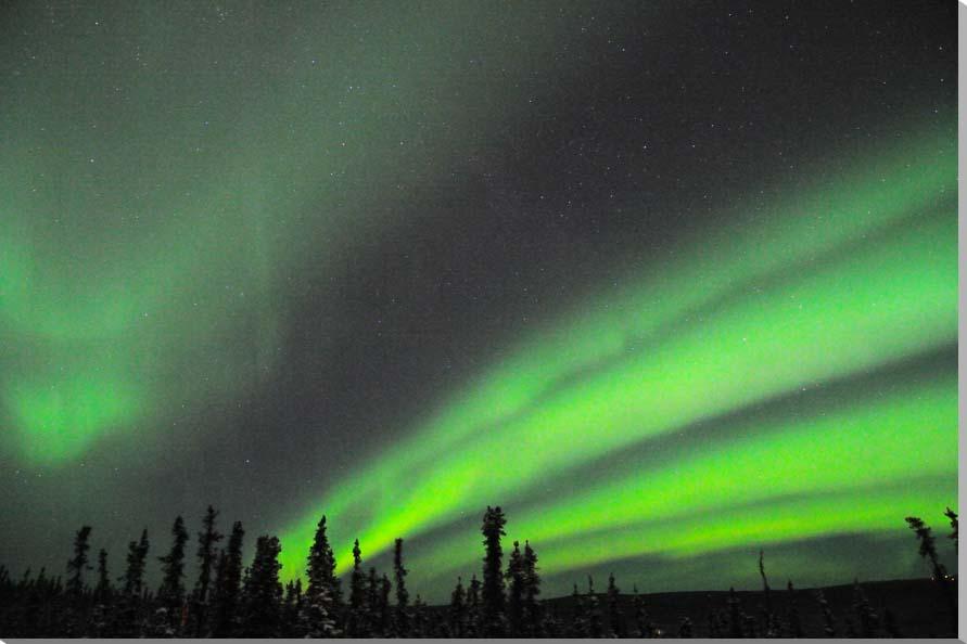 オーロラ/アラスカ 風景写真パネル 65.2×45.5cm AUR-21-M15