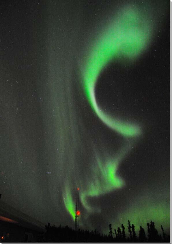 オーロラ/アラスカ 風景写真パネル 72.7×50cm AUR-29-M20