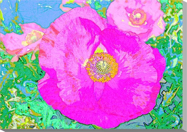 ポスターとは違うそのまま飾れる額のいらないインテリアアート ギフト ファクトリーアウトレット 贈り物 アートフォト CG グラフィック セール ポピー インテリアアート CG-012-P10 CG写真パネル 写真パネル 53×41cm