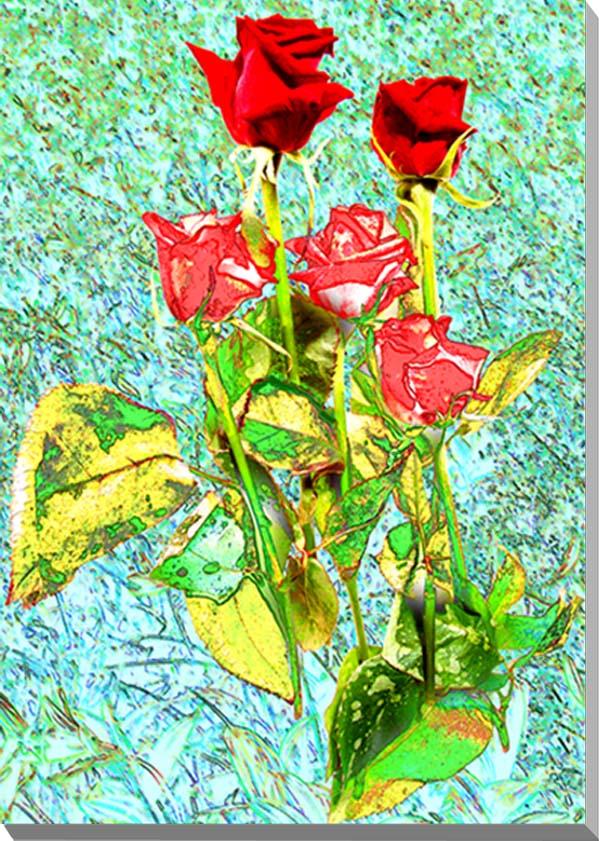 ポスターとは違うそのまま飾れる額のいらないインテリアアートギフト 贈り物 アートフォト CG グラフィック 薔薇 バラ CG-037-P10ギフト 新登場 インテリアアート 53×41cm CG写真パネル 写真パネル 花 人気の製品