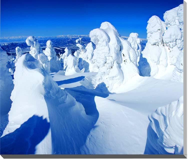 蔵王の樹氷 山形  風景写真パネル