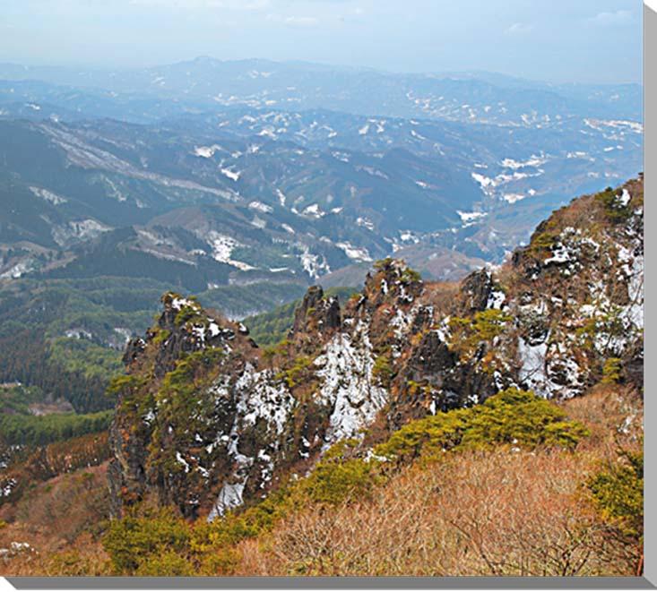 福島/霊山 風景写真パネル 53×45.5cmFUK-055-F10  【楽ギフ_名入れ】
