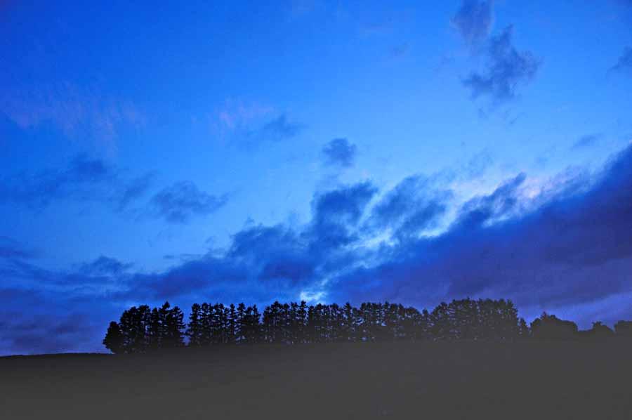 【正規品直輸入】 インテリア アートパネル グラフィックアート ウォールデコ ディスプレイ 風景写真パネル 北海道 美瑛 赤麦の丘の夜明け前 自然 雄大 広大 パッチワーク 畑 丘 解放感 癒やし おしゃれ モダン HOK-49-B2 【 包装】 【 のし宛書】 【 名入れ】, テルショップジャパン 70578b11