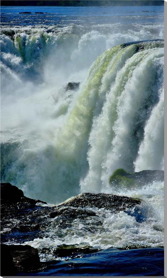 世界遺産 イグアスの滝 風景写真パネル 73×43cm IGA-32-7343【楽ギフ_名入れ】