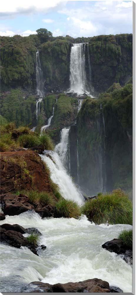 世界遺産 イグアスの滝 風景写真パネル 100×45cm IGA-31-10045【楽ギフ_名入れ】