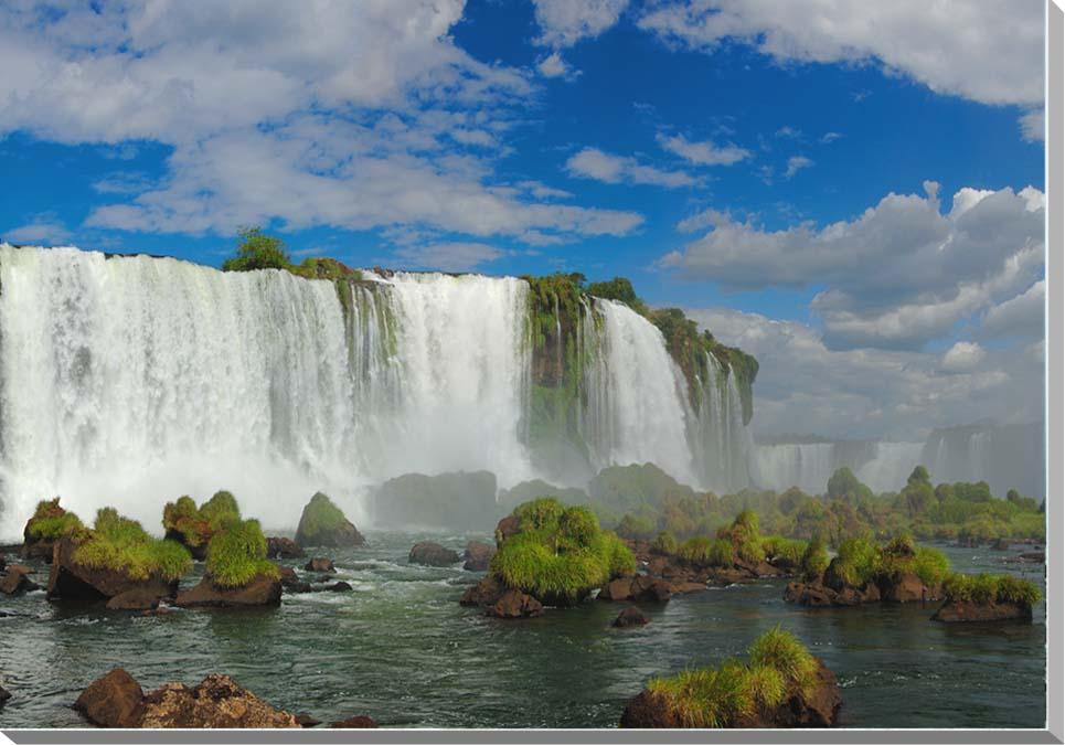 世界遺産 イグアスの滝 風景写真パネル 60.6×41cm IGA-26-M12【楽ギフ_名入れ】