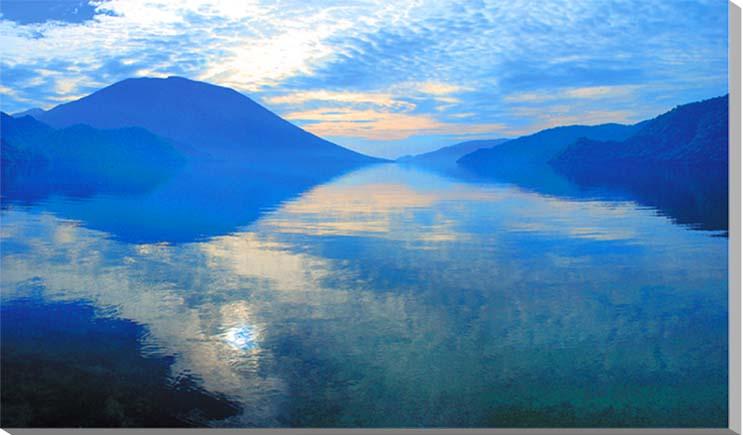 中禅寺湖/日光 風景写真パネル 80.3×53cm NIK-007-M25