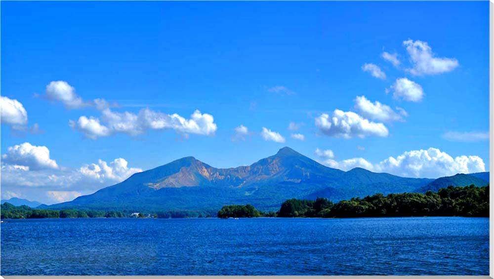 裏磐梯 風景写真パネル 125×70cm BIG-9