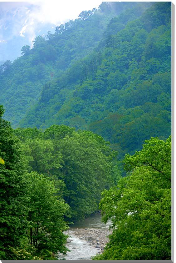 山形朝日村 風景写真パネル 65.2×45.5cmYAM-38-M15  【楽ギフ_名入れ】