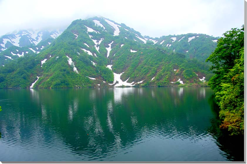 山形朝日村 風景写真パネル 91×60.6cmYAM-45-M30  【楽ギフ_名入れ】