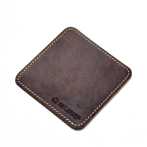 Seal matte leather stamp pad