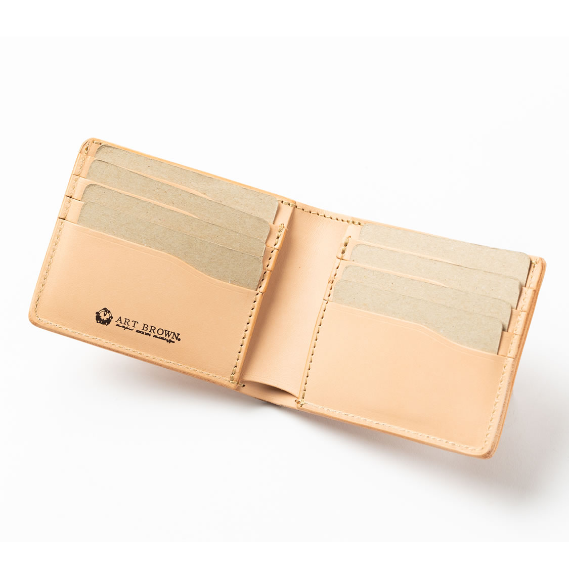 641aa1da37a4 送料無料 送料無料 レザー小物 名入れ可】二つ折り財布(オールカード)/折 ...