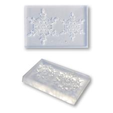 繊細な模様でも簡単に抜き取る事ができる粘土型 クリアモールド 売り込み 国内正規品 スタンダードA 雪の結晶
