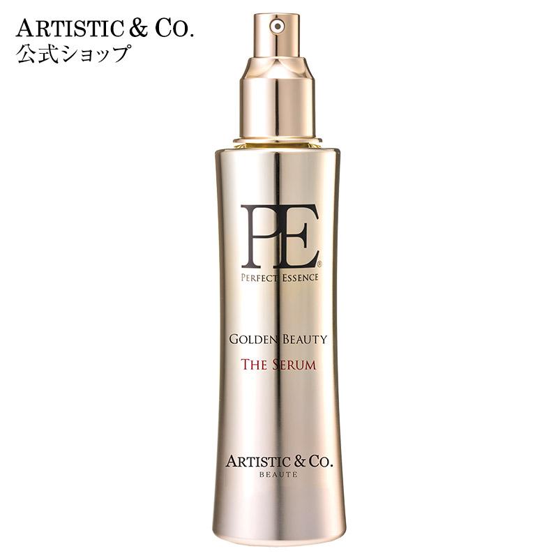 【ARTISTIC&CO.公式】 P.E ゴールデンビューティー ザ セラム(120ml) 美顔器 美容液 エイジングケア 導入美容液